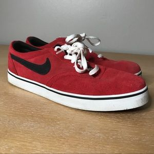 NIKE SB PROD SHOES MENS 10.5 RED GREAT CONDITION